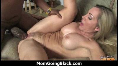 Mom has One Big Black Cock