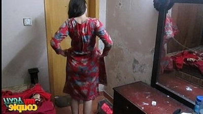 Indian Wife Sonia In Shalwar Suir disrobes Naked at Hardcore XXX Fuck