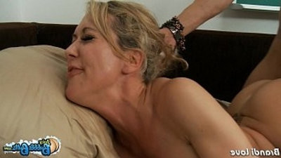 Big assed Brandi Love rail cock