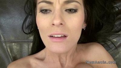 Big BOOTY girlfriend rough anal assault