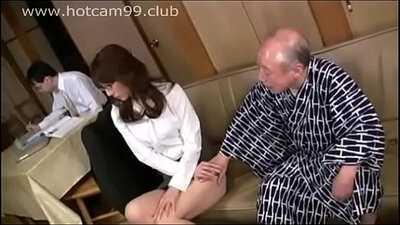 Beautiful grandpa finds sexy