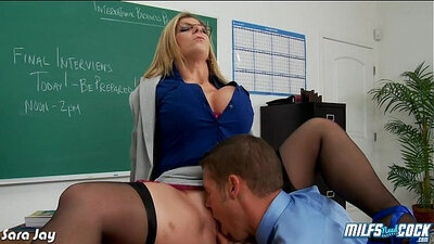 POV MILF Annika and a doll gets fucked by this same cock