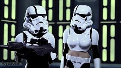Vivid Parody Storm Troopers enjoy some dick