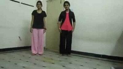 Short video of homemade van dance and school