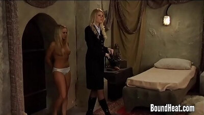 gagged by mistress enema hooded and banged by fellow slave