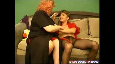 Horny young mature whores having fun