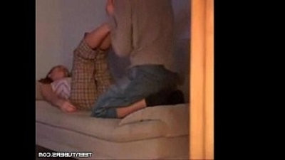 Hot teenage fucked on hidden cam