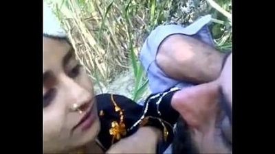 desi man with teen outdoor