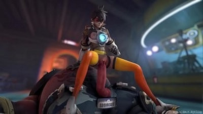Oversee Tracer x Roadhog Animated, Sound Guilty