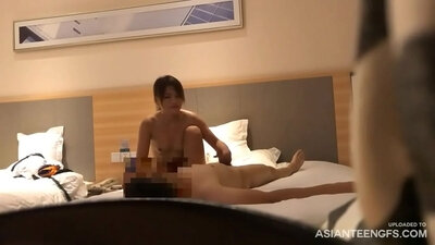 Chinese girl owned by hidden camera