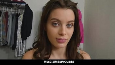 SisLovesMe Lana Rhaodes Blackmailed Fucked By Creeper Bro