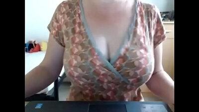 Busty MILF Cocksucking everywhere on Webcam