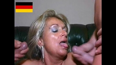 German mature housewife tases eurofickd
