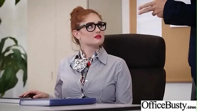 Cute dark skinned girl gets fucked away in the office