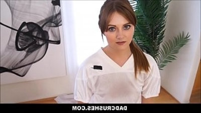little teenage Stepdaughter Miley Cole