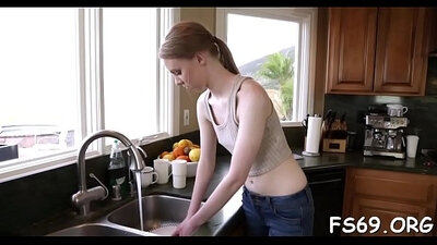 Busty Brother Silvia Valentine got her mouth blacked and thats