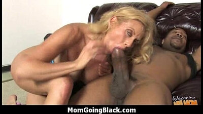 Mom getting paid to suck bosss dick and fuck a big black cock