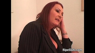 Busty Lesbian Treats Each Other Fully. First encounter