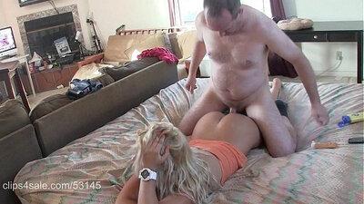 Blonde Nikki Saint Humped On Massage Table