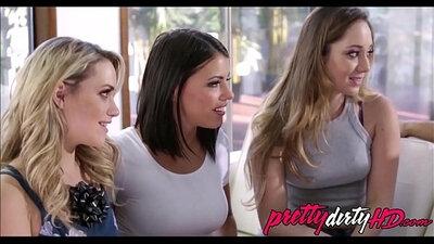Christine Jolie, Ludonna Vendori and Virgo Peridot in Best Fists, Threesomes, Big Ass porn starring
