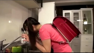 Asian fuck in the throat