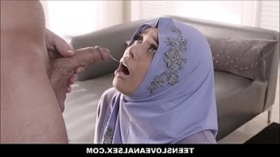 Thick Teen In A Hijab Aaliyah Hadid Fucked In Ass By Fboy fuckhole Detective