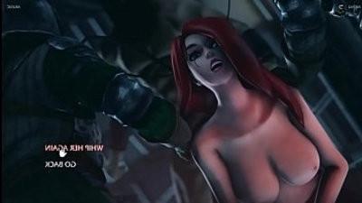 KATARINA ass fucking strapon FUCK League of gamends porno Game