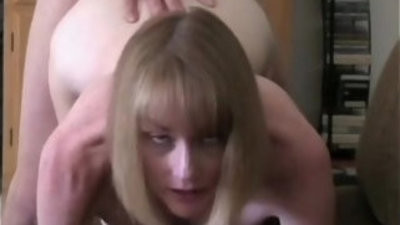 Melanie deals with creampie