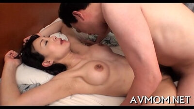 This cute mom got face banged after a cock ride