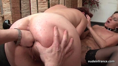 Brods Milfs - FFM threeway on Big Thick Ass in the Woods