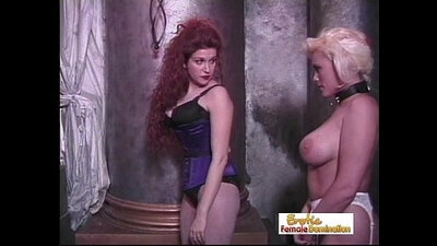 Mistress gives dominant boy and his pretty