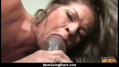 hot mature mom gets plowed long by a big black cock