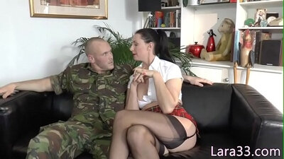 Anal copulate milf fucked