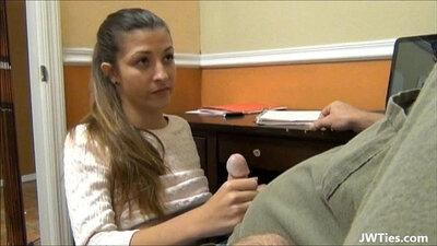 Daddy Helps Teen Talk WTF