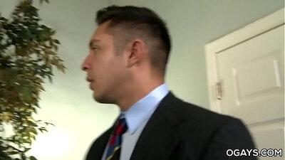 Office dude bangs tall gay