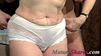 Beautiful hot granny in first time hardcore fucking