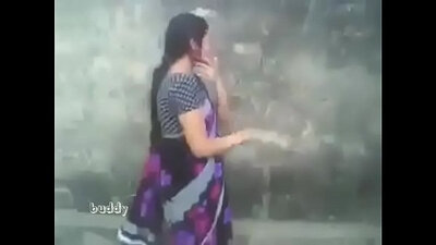 Desi aunty and brother outdoor sexual enjoyment