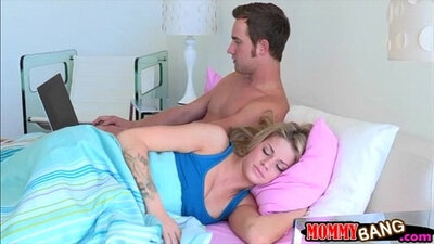 Busty stepmom and teen threesome Fun Sized chums Take A HOT